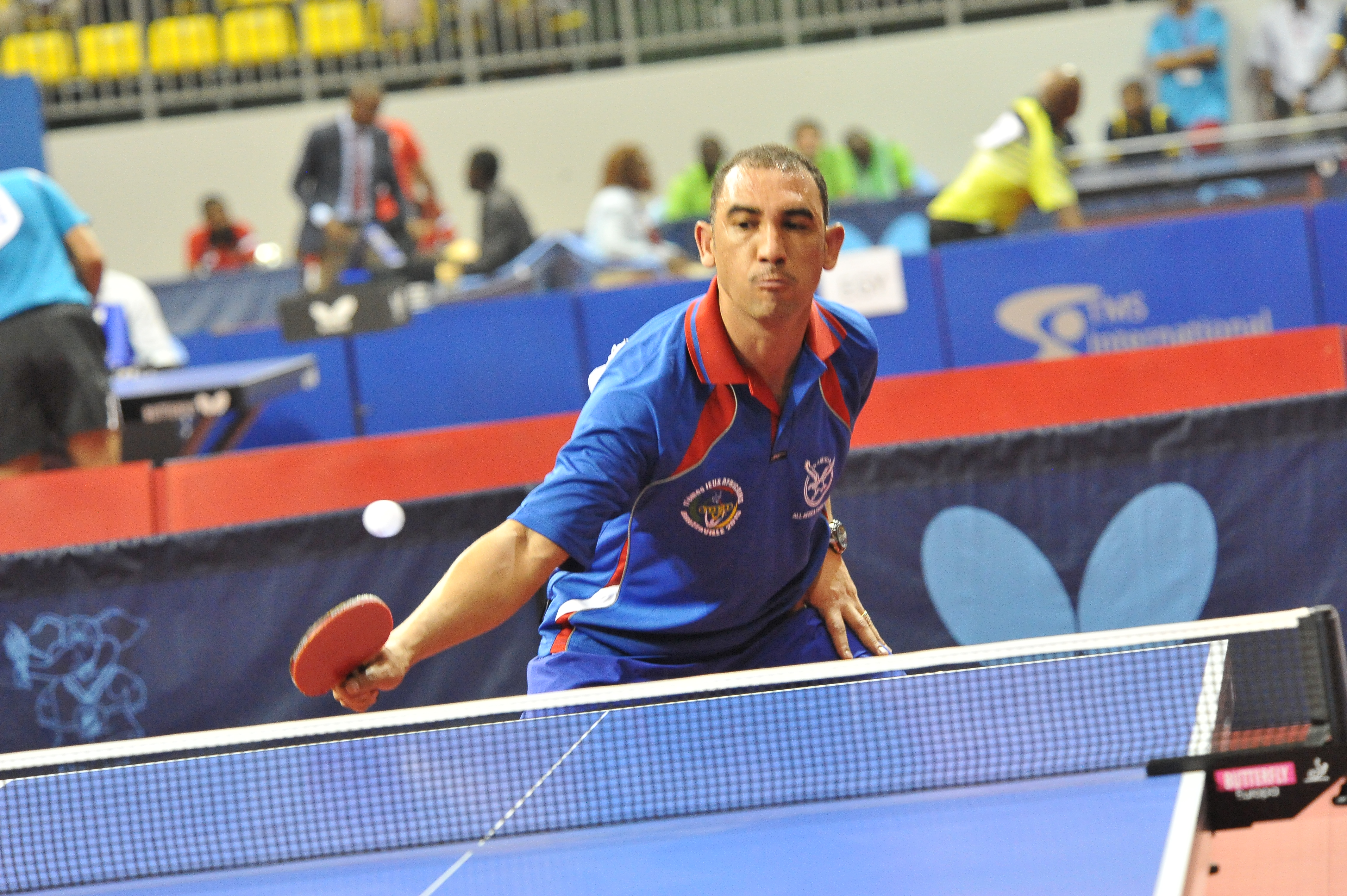 Reinnardt stanley in triple roles for namibia ittf africa - African table tennis federation ...