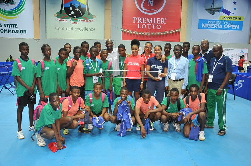 From cameroun to nigeria sarah hanffou lifts table tennis - African table tennis federation ...