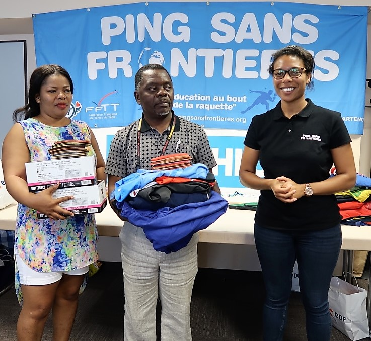 Ping sans fronti res extends generousity to 11 countries - African table tennis federation ...